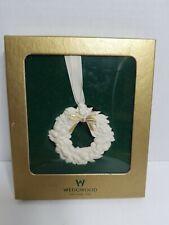 wedgwood christmas wreath ornament england 1759