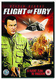 Flight Of Fury DVD Steven Seagal Movie Action - LIKE NEW - SHIPS FROM SYDNEY