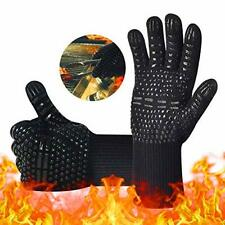 New listing Bbq Gloves,Oven Gloves1472℉ Extreme Heat Resistant, Food Grade Kitchen Grill