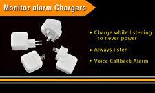 Wireless GSM SIM Card Spy Mini Ear Bug USB Wall Charger Voice Listening Device