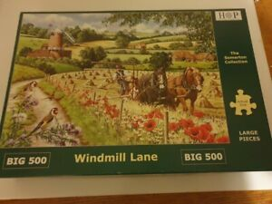 hop 500 large piece jigsaw vgc complete windmill lane