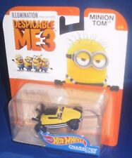 ILLUMINATION DESPICABLE ME 3 COLLECTOR HOT WHEELS CHARACTER CARS MINION TOM 4/6