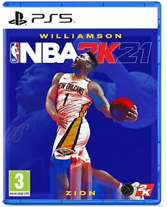 NBA 2K21 Standard Edition for Sony PS5 (Zion Williamson) Brand New Sealed