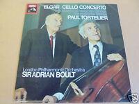 ELGAR CELLO CONCERTO TORTELIER / ADRIAN BOULT CLASSICAL LP ASD 2906 STEREO HMV