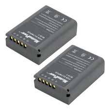 BATTERY x 2 for OLYMPUS BLN-1 OM-D E-M5 PEN E-P5 HLD-6 Camera TWO BATTERIES
