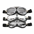 Hot Anti-UV Safety Motorcycle Scooter Pilot Goggles Helmet Glasses Motocross IB
