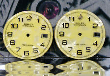 Rolex OyterDate Precision Custom made Mother of pearl Yellow Dial fits Ref 6694