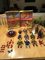 80s MASTERS OF THE UNIVERSE MOTU HE-MAN LOT 12 COMPLETE FIGURES, 3 Beasts, More