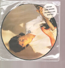 """GARY MOORE Falling In Love With You 2 Track Picture 7"""" Vinyl Single Virgin 1983"""