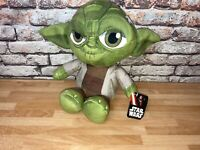 "Disney Star Wars Yoda Plush Soft Toy 9.5"" 25cm Collectable Clean New With Tags"