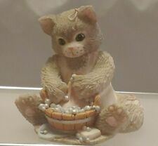 """Collectible Calico Kittens """"Cleanliness"""" Enesco No 113301"""
