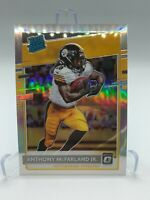 2020 Panini Optic Anthony McFarland Jr. Rated Rookie Silver Holo Prizm RC