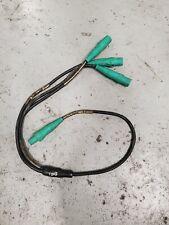2 AWG #2 Soft Siamese 6' Molded Cam Lok Y-Split Threefer 1 Fem to 3 Male Green