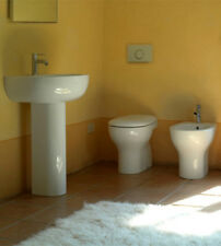 Lavabo lavandino con colonna a terra, misura cm.65, marca Grace Globo