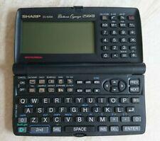 Sharp Rechner ZQ 630M Mini-Computer Organizer PDA