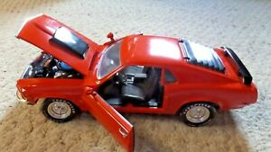 Ertl American Muscle 1970 Boss 429  Mustang 1/18 Scale - Orange