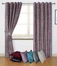 Rideaux et cantonnières violets pour la maison sans offre groupée personnalisée