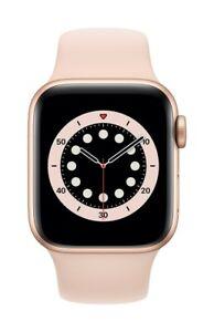 Apple Watch GPS Series 6 40mm Goldton Aluminiumgehäuse Sportarmband NEU & OVP