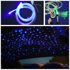 Car 0.75mmX200pcsX2m RGB LED Colorful Fiber Optic Star Ceiling Light Decoration