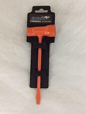 "Chainsaw Combo T Wrench 3/4""(19mm) X 1/2""(13mm) Bright Orange Stihl Husqvarna"