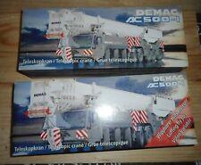 conrad telescopic crane DEMAG AC 500-1 + VOLÉE VARIABLE  luffing fly jib