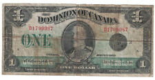 Dominion of Canada - 2.7.1935 One Dollar Banknote (P-33n)
