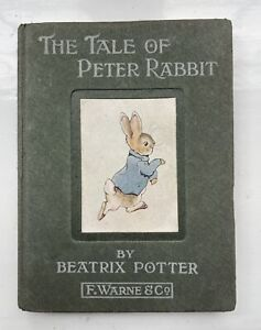 THE TALE OF PETER RABBIT - Beatrix Potter - FIRST EDITION - Very Good Condition