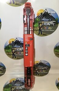 NEW Sealed CRAFTSMAN 1/2-in Click Torque Wrench 50 lb-250 lb CMMT99434 !!!