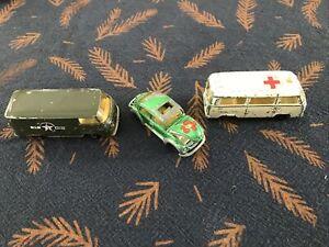 """MAJORETTE - COMBI VW Ambulance """"Croix Rouge Française""""  US ARMY   -COCCINELLE …"""