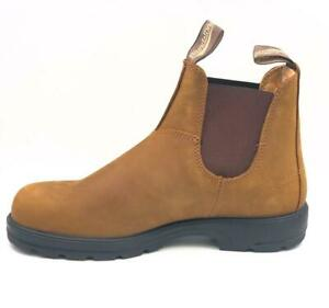 NEW Blundstone 562 Crazy Horse Brown Leather Boots For Men's