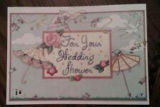 """New Mary Engelbreit For Your Wedding Shower Bride Card & Original Env 7""""x5"""" 2"""