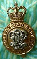 7th Queen's Own Hussars Cap Badge QC Slider Bi-Metal