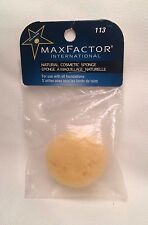 MAX FACTOR Natural Cosmetic SPONGE # 113 ~ NEW & SEALED ~