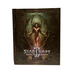 The Art of Starcraft 2 Heart of the Swarm Hardcover Book Collectible