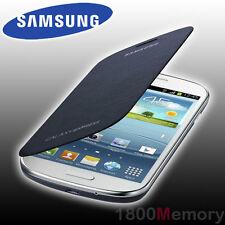GENUINE Samsung Galaxy Express GT-i8730 Flip Cover Case Back Pebble Blue