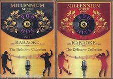 DK KARAOKE Millennium Vol 1 & 2, Cavs Super CD+G SCDG, 1800 Songs ALSO in MP3+G
