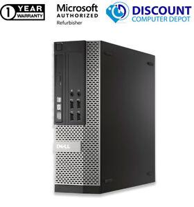 Fast Cheap Dell Desktop Computer Intel Core i3 4GB RAM 250GB HDD Windows 10 WIFI