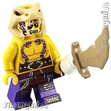 C128 Lego Ninjago Sleven Minifigure with Weapon from 70756 70753 70747 NEW