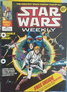 Star Wars Weekly issue 1 MARVEL COMIC GROUP SET #1 - #59 💥 Original Free Gift