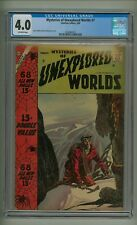 Mysteries of Unexplored Worlds #7 (CGC 4.0) O/W pages; Ditko; 1958 (c#20061)