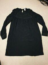 H&M black Tunic Top Size 12