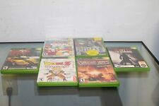 Lot of 6 Dragon Ball Z:Sagas , Sega Gt 2002 Simpson Road Rage Xbox and More!