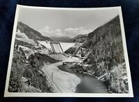 Vintage Oregon State Hwy Commission Photo #5819 Detroit Dam east of Salem