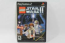 Lego Star Wars II PS2 Playstation 2 No case LUCASARTS Games Sony Black