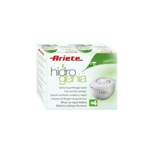 Ariete Cartucce Filtri x4 Originali Hidrogenia 2810 2811 2812 2813