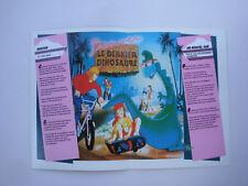 Prospectus ancien catalogue dessin animé Denver le dernier dinosaure 1988 n°2