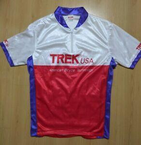 Vintage TREK USA MATRIX Cycling Jersey Men's L