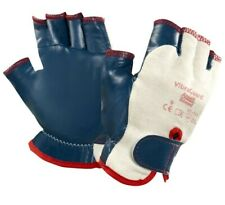 Ansell 07-111 Anti Vibration VibraGuard Driver Style Fingerless Safety Gloves