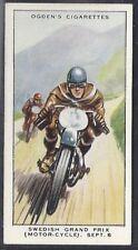 OGDENS-MOTOR RACES 1931-#48- QUALITY CARD!!!