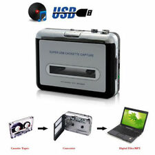 Tape to PC USB Cassette & MP3 CD Converter Capture Digital Audio Music Player AU
